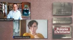 Radosław Sikorski, Klementyna Suchanow i Stowarzyszenie Kultury Chrześcijańskiej w tle - miniaturka