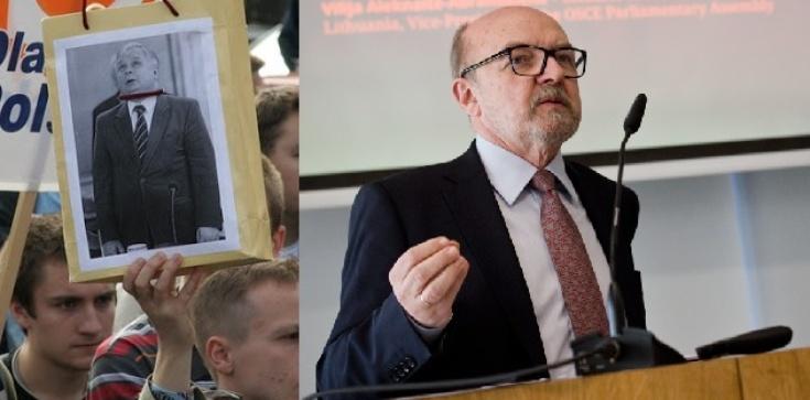 Prof. Ryszard Legutko miażdży totalnych: To PO wymyśliła 'szubienice', a nie my - zdjęcie
