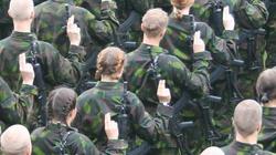 Fińska armia nie czeka na Rosjan z założonymi rękami - miniaturka