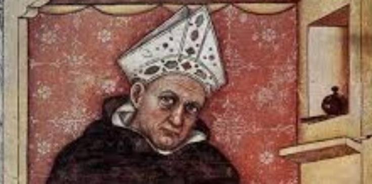 Święty Albert Wielki, biskup i doktor Kościoła i patron studiujących nauki przyrodnicze - zdjęcie