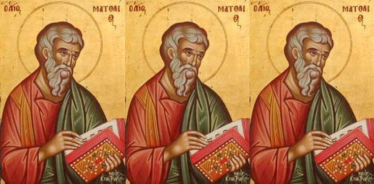 Święty Mateuszu, módl się za nami! - zdjęcie