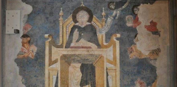 Florencja. Można już podziwiać najstarszy wizerunek św. Tomasza z Akwinu  - zdjęcie