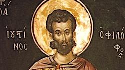 Święty Justyn, męczennik. Najważniejszy apologeta chrześcijaństwa w II wieku - miniaturka
