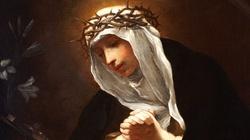 Wizja św. Katarzyny ze Sieny o niesprawiedliwych kapłanach - miniaturka