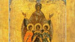 Św. Zofia i jej trzy córki-męczennice: Wiara, Nadzieja i Miłość - miniaturka