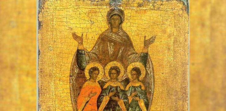 Św. Zofia i jej trzy córki-męczennice: Wiara, Nadzieja i Miłość - zdjęcie