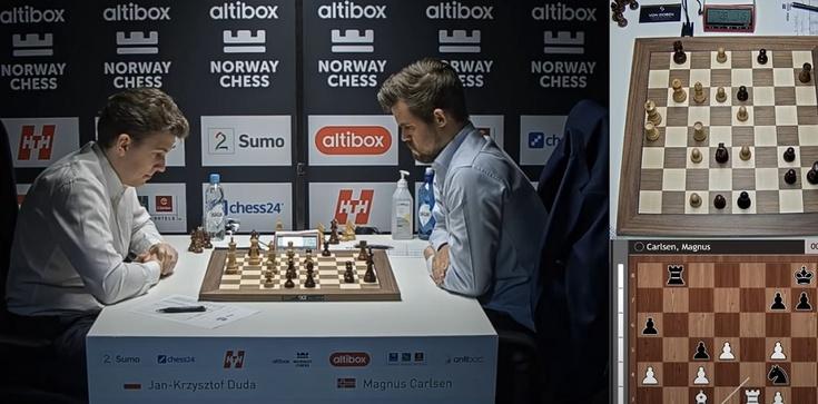 Brawo Polska! Duda pokonał szachowego mistrza świata - zdjęcie