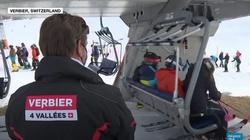 Szwajcaria. Czterystu Brytyjczyków zniknęło z kurortu narciarskiego [Wideo] - miniaturka