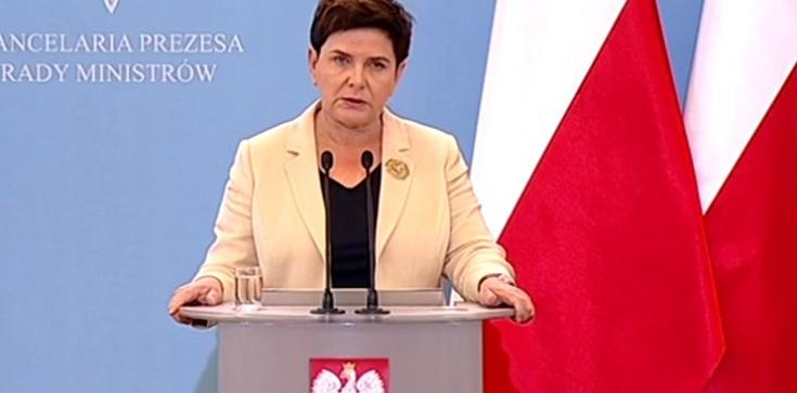 Premier Szydło: Nie ma mowy o Polexicie! - zdjęcie