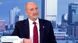 Antoni Macierewicz doskonale wyjaśnił cel Jarosława Kaczyńskiego - miniaturka