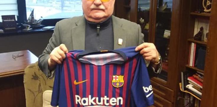 FC Barcelona też broni polskiej Konstytucji? Wałęsa znów zadziwia... - zdjęcie
