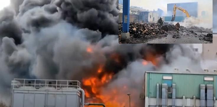 Spłonęła fabryka hydroksychlorochiny pomocnej w leczeniu Covid-19 na Północnym Tajwanie - zdjęcie