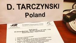 Tarczyński wiceszefem Europejskich Konserwatystów - miniaturka