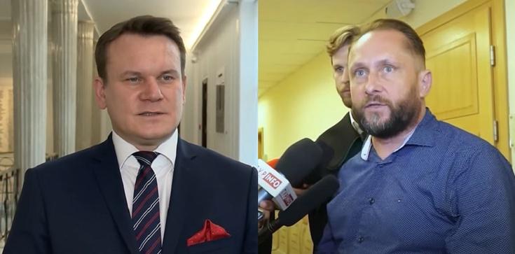 Tarczyński do Durczoka: Nie pij tyle bo już nawet szpilki w męskim rozmiarze ... - zdjęcie