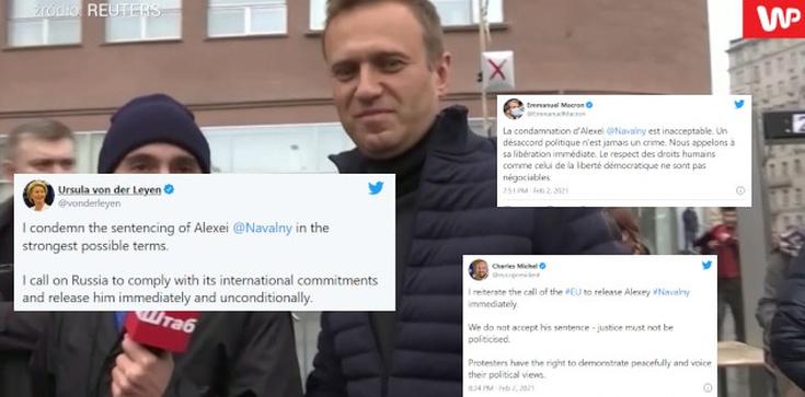 Świat wzywa Rosję do uwolnienia Nawalnego - zdjęcie
