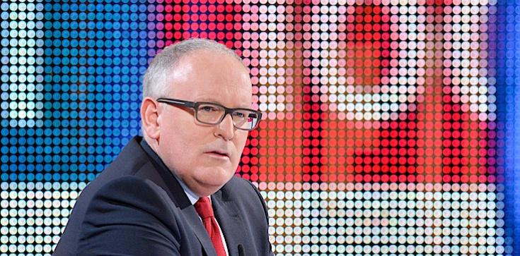 Premier Czech: Nie chcemy pana Timmermansa, to byłaby absolutna katastrofa! - zdjęcie