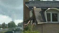[Wideo] Kanada. Potworna siła tornado zniszczyła około 100 domów na przedmieściach Montrealu. Są zabici i poszkodowani - miniaturka