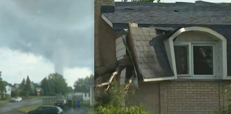 [Wideo] Kanada. Potworna siła tornado zniszczyła około 100 domów na przedmieściach Montrealu. Są zabici i poszkodowani - zdjęcie