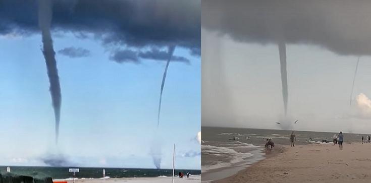 [Wideo] Na Bałtyku pojawiły się trąby wodne - zdjęcie
