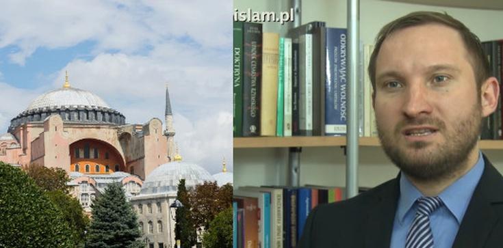 TYLKO U NAS! ,,Reislamizacja Hagii Sofii wpisuje się w ciąg tureckich prowokacji'' - Dr Piotr Ślusarczyk dla Frondy - zdjęcie