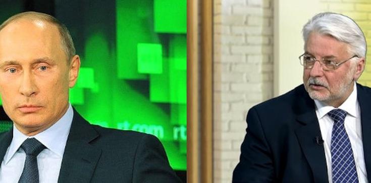 [TYLKO U NAS!] Witold Waszczykowski: Putin boi się majdanu w Moskwie - zdjęcie