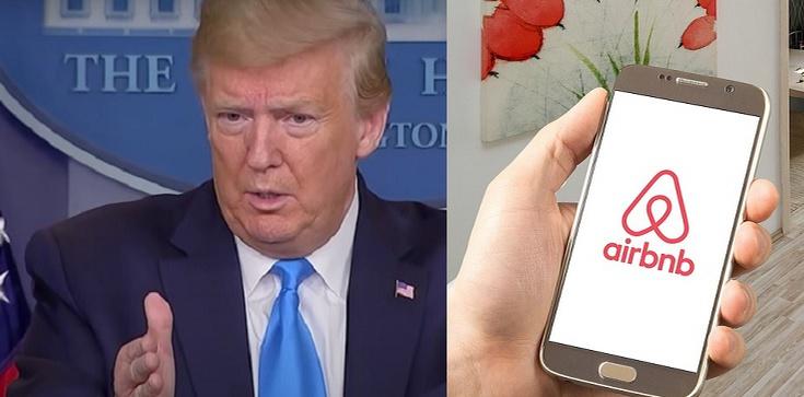 Orwell w sieci: Popierasz Trumpa, nie zrobisz rezerwacji - zdjęcie