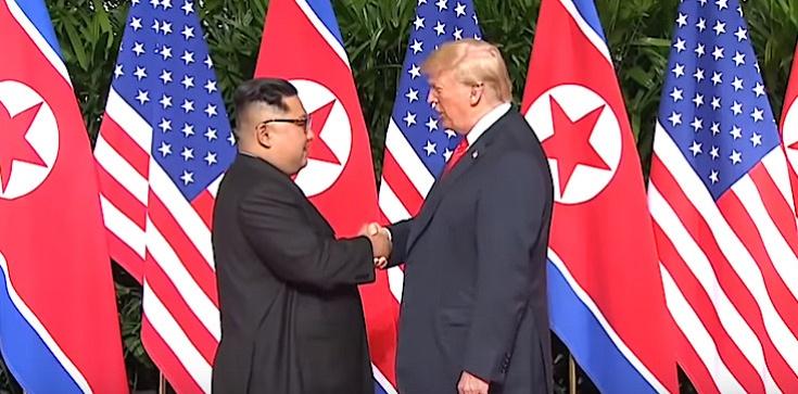 Spotkanie Trump - Kim Dzon Un nie wcześniej niż w 2019 - zdjęcie