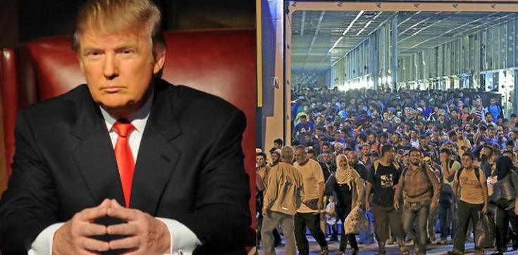 Trump o sprowadzeniu imigrantów przez Merkel: To szaleństwo! - zdjęcie