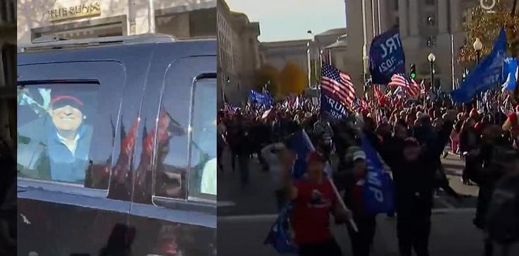 Marsz poparcia dla Donalda Trumpa. Tysiące osób w Waszyngtonie [Wideo] - zdjęcie