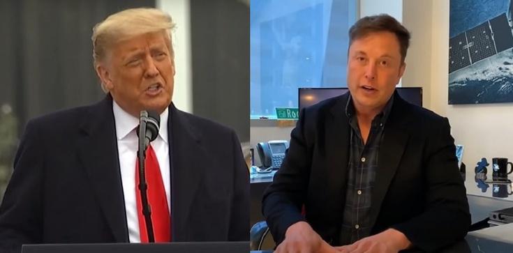 Musk krytykuje banowanie Trumpa - zdjęcie