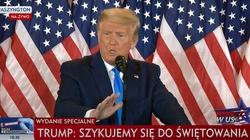 Trump: Wybory jeszcze się nie skończyły. Wiadomo, dlaczego Biden się spieszy - miniaturka