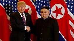 Będzie przełom? Początek spotkania Donald Trump - Kim Dzong Un - miniaturka