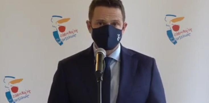 Trzaskowski nie ma wstydu! ,,Podnieśliśmy opłaty, aby… zachęcić do oszczędzania wody''  - zdjęcie