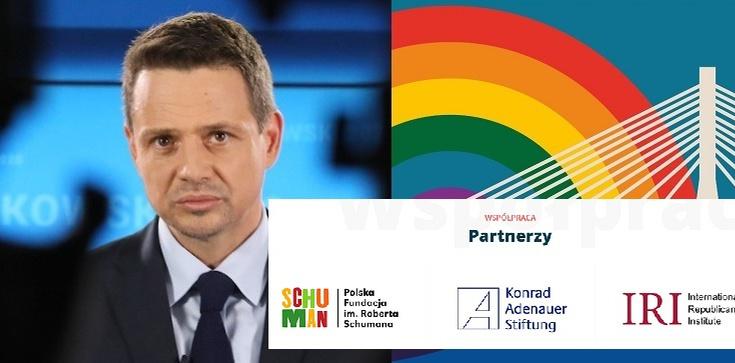 Niemieccy partnerzy i antyrządowy program konferencji w walce o młodych – tak się ustawia Trzaskowski! - zdjęcie