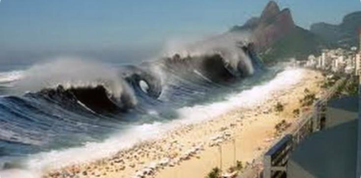 Tsunami zniszczyło wszystko oprócz maryjnej bazyliki - zdjęcie