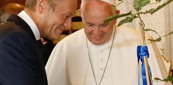 Wiemy, o czym Tusk rozmawiał z papieżem - zdjęcie
