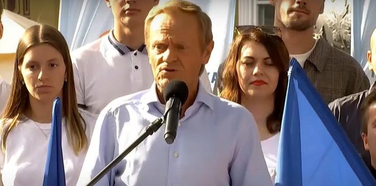 Tusk w Gdańsku: Panie Kaczyński wyjdź ze swojej jaskini - zdjęcie