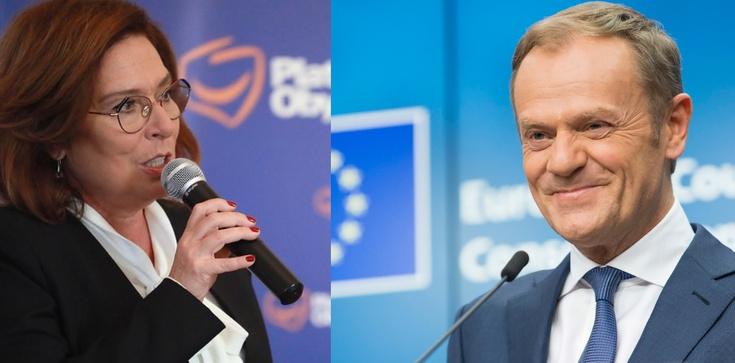 Według najnowszego sondażu większość wyborców Koalicji Obywatelskiej opowiada się za zastąpieniem kandydatury Małgorzaty Kidawy-Błońskiej kandydaturą Donalda Tuska - zdjęcie