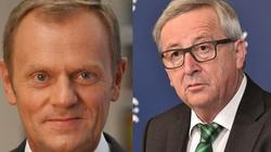 Juncker i Tusk piszą do Morawieckiego.'Niech Polska będzie nadal pozytywną siłą na rzecz integracji europejskiej' - miniaturka