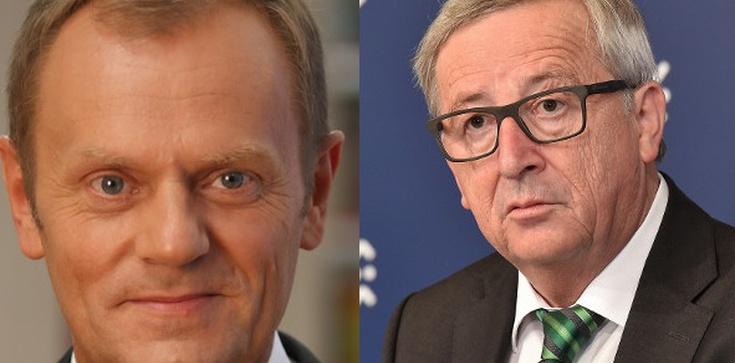 Juncker i Tusk piszą do Morawieckiego.'Niech Polska będzie nadal pozytywną siłą na rzecz integracji europejskiej' - zdjęcie