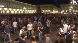 Od tego zaczęła się panika w Turynie. ZOBACZ WIDEO - miniaturka