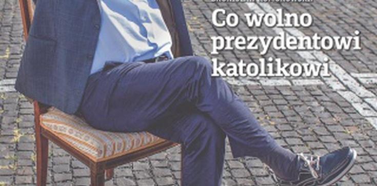 Komorowski w trampkach porównuje się do Piłsudskiego i się żali... - zdjęcie