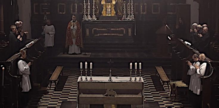 Droga Krzyżowa z kościoła Opactwa Benedyktynów w Tyńcu [NA ŻYWO] - zdjęcie