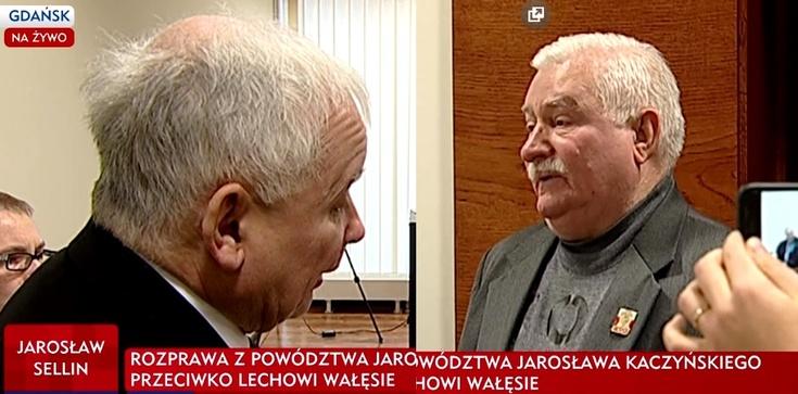 SONDAŻ: Czy Wałęsa powinien przeprosić Kaczyńskiego?  - zdjęcie
