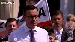 Premier Morawiecki w Sandomierzu: My za Polskę nie przepraszamy, my za Polskę dziękujemy - miniaturka