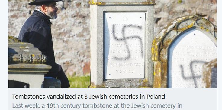 Tak się kreuje przekaz o polskim antysemityzmie  - zdjęcie