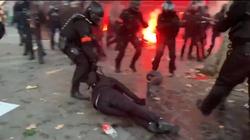Niespotykana przemoc na francuskich ulicach - miniaturka