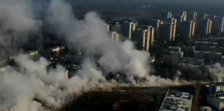 Warszawa SPARALIŻOWANA po awarii sieci ciepłowniczej - zdjęcie