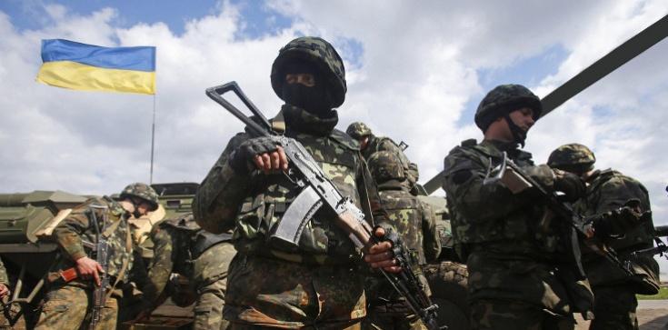 Wielka defilada w Kijowie. Święto Niepodległości Ukrainy z wojną w Donbasie w tle - zdjęcie