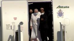 Papież wylądował w Bagdadzie! ,,Przybywam jako pielgrzym pokoju'' - miniaturka